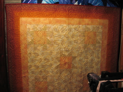 New Year's Day Mystery Quilt from Longarm University