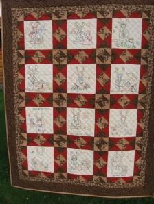 A Moose-a-Month quilt
