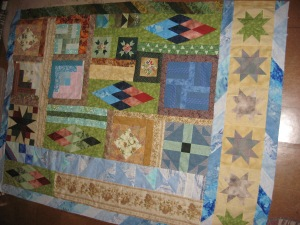 Bits & Pieces, not yet quilted