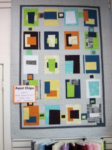 Paint Chips Just Sew 2014