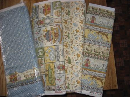 Noah's Ark fabrics