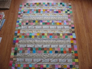 Noah's Ark #14, border strips with four patch strips