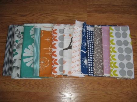 Slices fabric