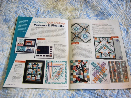 Slices Quilters Newsletter-Finalist issue